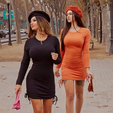 How to wear matching outfit with your BFF?